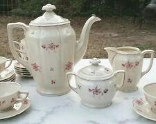 27 Pc Vintage Heinrich & Company H&C Bavaria Germany Tea Service For 12 Pot.