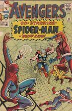 Avengers, The 11 strict 1964 Fn/Vf+ High-Grade Avengers, 1st Spider-Man X-Over