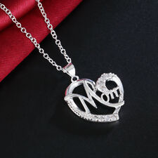 925 sterling Silver wedding Necklace Jewelry noble Fashion women crystal stone