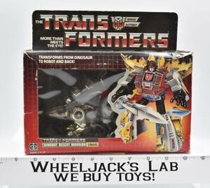 Snarl MISB NEW Unused Sealed 1985 G1 Transformers Vintage Action Figure