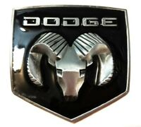 * Dodge Ram Head Pewter Color Logo Belt Buckle RAM TOUGH Collectible Hemi