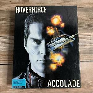 Vintage Hoverforce Accolade 1991 IBM PC - Complete in Box!