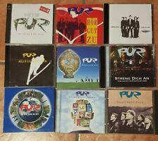 Pur, CD-Sammlung. 9 teilig