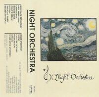 NIGHT ORCHESTRA Cassette 1992 San Diego 90's Private Press Jazz Fusion RARE!