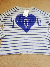 Bnwt Girls Next  T-shirt Top Age 4 Years