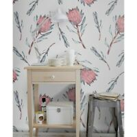 Removable wallpaper Protea flower Flower Floral  Soft self adhesive art