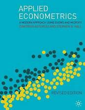 Applied Econometrics: A Modern Approach Using Eviews and Microfit by...