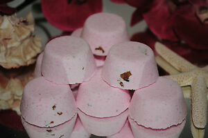 AROMATHERAPY BATH BOMB FIZZIES Handmade,Moisturizing,Exquisite Fragrances x 20
