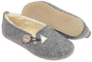 COMFORT WARM HANDMADE Ladies Slippers  FELT 100% SHEEP WOOL