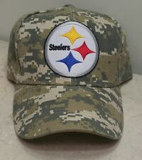 Pittsburg Steelers Camouflage NFL Team Baseball Cap Camo Football Hat
