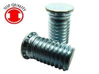 """1//8/""""X1//4/"""" OHSR180140-100pcs Steel Zinc Oval Head Solid Rivets"""