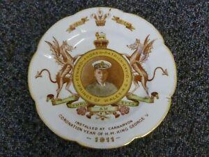 Prince Edward VIII Investiture Royal Commemorative Plate 1911 Caernarvon
