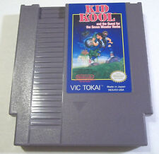 Kid Kool (Nintendo) cool good cond. Vic Tokai NES action video game FREE SHIP