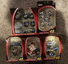 Lot of 5 NASCAR Jimmie Johnson #48 Trevco Collectible Ornaments