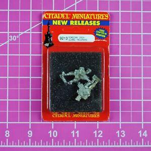 GW Citadel Warhammer 40,000 40k Imperial Guard Mordian Iron Guard Lasgun 8 OOP