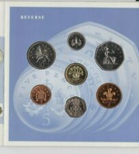 1991 ROYAL MINT BRILLIANT UNCIRCULATED 7 COIN COLLECTION