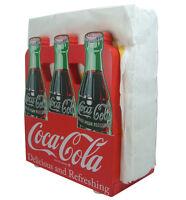 Coca-Cola Wooden 6-Pack Napkin Holder