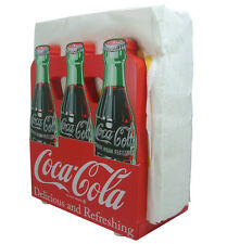 Coca-Cola Wooden 6-Pack Napkin Holder