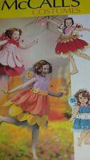 NIP McCALLS COSTUMES FAIRY W/ WINGS PATTERN M 6813 GIRL'S SIZES  2-5  FF UNCUT