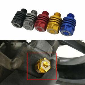 Oil Drain Plug Sump Nut Bolt Screws For Yamaha NVX 155 150 125 Aerox 155 2015-20