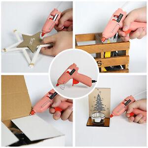 Hot Melt Glue Gun Fast Dual Tem Two 7*100MM Sticks Home Use DIY Crafting Repair