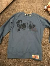 Disney Jeans Blue Jumper Sweater Age 4-5 Years From George In Excellent Comditio