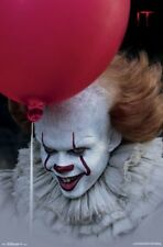 IT MOVIE - BALLOON POSTER - 22x34 - PENNYWISE CLOWN KING 16333
