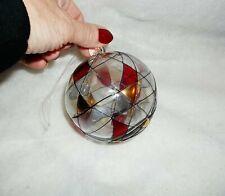 """PartyLite """"Mosaic Glass Ornament"""", Euc"""