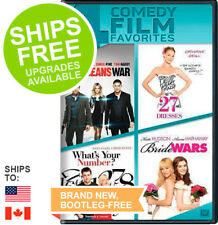 This Means War / 27 Dresses / What's Your Number / Bride Wars (DVD, 2014)