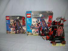 Lego Set 8800 Vladek's Siege Engine CASTLE 100% complete Knight's Kingdom II BOX