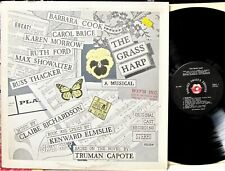ORIGINAL CAST MUSICAL LP: THE GRASS HARP Based on the Novel by TRUMAN CAPOTE