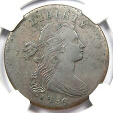 1796 Draped Bust Large Cent Reverse of 1795 1C S-92 Coin - NGC XF Details (EF)