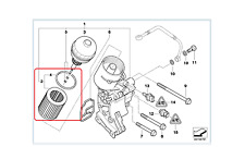 Genuine BMW Oil Filter 3/5/7/X Series PN: 11427512300 UK
