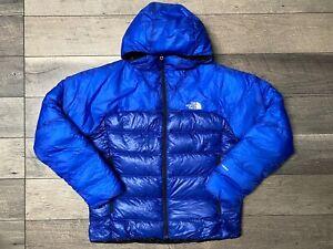 The North Face Sample Down Jacket 800 TNF Blue Men's Medium New BNWT Himalayan