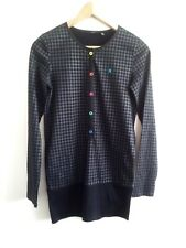 Individual Style! Hurley size S black & grey top in excellent condition