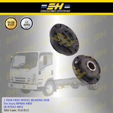 1 Pair Free Wheel Bearing Hub For Isuzu NPR66 4WD 20 Spline (8-97032-905)