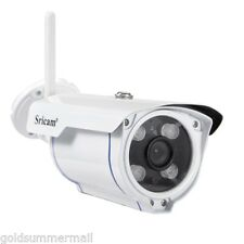 Sricam SP007 Bullet Outdoor HD Camera 720P WIFI Connection TF SD 4 LED IP Camera