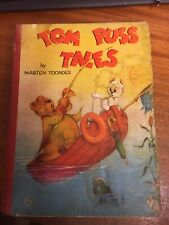 Tom Puss Tales by Marten Toonder - 1st Ed. 1948 - Colour plates