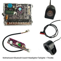 Bluetooth board+Motherboard+Throttle Headlights &Taillights Set For XIAOMI M365