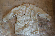 Isabel Marant Beige Linen Button Up Crew Coat Jacket Womens Size 36 UK 8