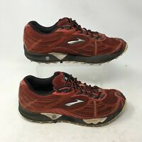 Brooks Cascadia 3 Trail Running Sneakers Shoes Low Top Lace Up Mesh Red Mens 8.5