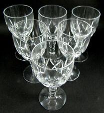 6 Vintage Stuart Crystal Carlingford Port Wine Glasses
