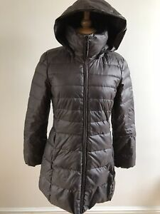 ANDREW MARC NEW YORK DOWN/FEATHER-FILLED DETACHABLE HOOD PADDED COAT SIZE XS