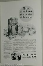 1932 Philco advertisement, PHILCO Radio model 15X