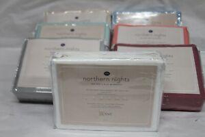 Northern Nights 100% Rayon Made Bamboo Silky Smooth Sheet Sets NEW!