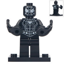 Black Spiderman - New Marvel Universe Lego Moc Minifigure Gift For Kids