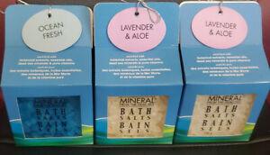 3 X Mineral From The Dead Sea Bath Salts Bain Sels !!!