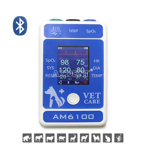 Vet Patient Monitor Pet Animal Portable Heart Rate Monitor Android Bluetooth