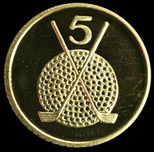 1994 GOLD ISLE OF MAN 1/10 OZ GOLF MINT STATE PROOF LIKE COIN