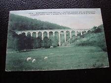 FRANCE - carte postale 1936 (montreuillon le pont aqueduc) (cy54) french
